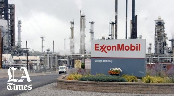 Exxon pierde la corona como la compañía petrolera más grande de Estados Unidos